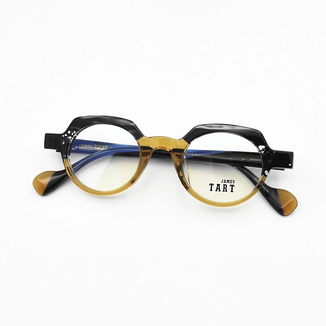 360 جديد أزياء البصريات نظارات مع حماية الأشعة فوق البنفسجية للرجال والنساء خمر الإطار البيضاوي شعبية أعلى جودة تأتي مع حالة النظارات الكلاسيكية