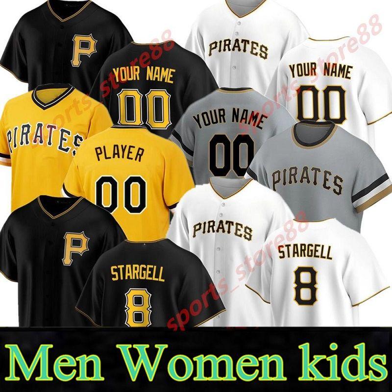 Пираты бейсбол 64 Phillip Evans Jersey 13 Kebryan Hayes 44 Kevin Kramer 29 Socrates Brito 51 Jason Martin Pullover Team White06