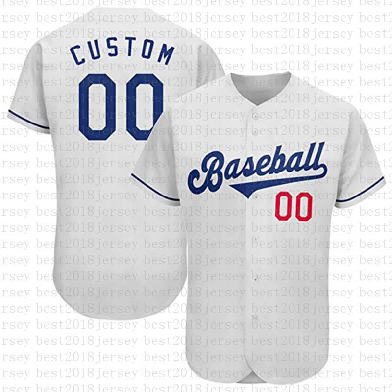 مخصص لوس أنجلوس الجدة زر أسفل البيسبول الفانيلة شخصية مراوح القميص للرجال تيماني الاسم والعدد للهدايا مخيط الأبيض متعدد العاج