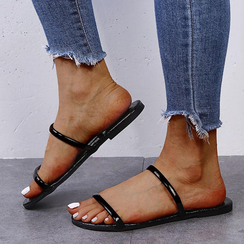 Sandals Women Fashion Slippers Home Shoes Summer Flip Flops Leopard Slipper Indoor & Outdoor Flip-Flops