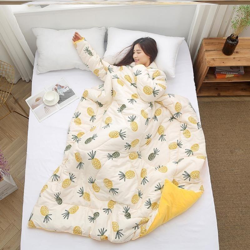 Bettdecken setzt faule schlafende Quilt Anti-Kick-Komfort Komfortable Matratze Onepiece Nette Hausaufgaben Drift gut aussehende Steppstücke