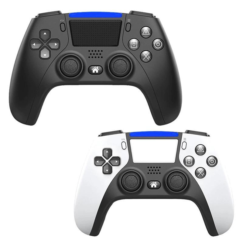 PS5 Şok Joystick Gamepad Oyunu Için Kablosuz Bluetooth Denetleyicisi