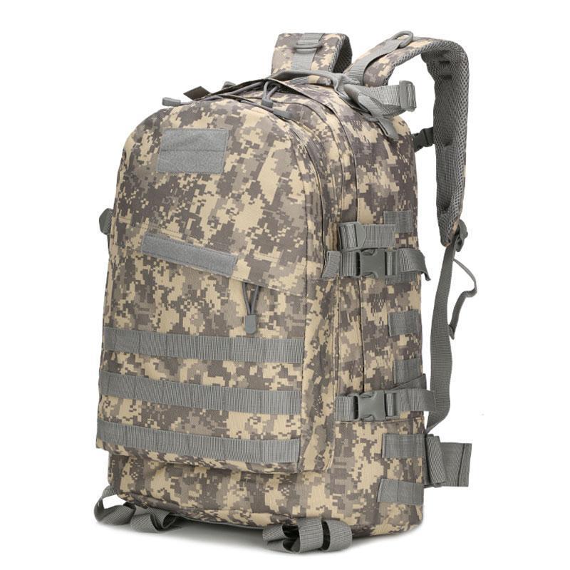 55l grande capacidade homem exército tático oxford mochilas impermeável esportes camping caminhada trekking pesca caça sacos 3d saco 2021