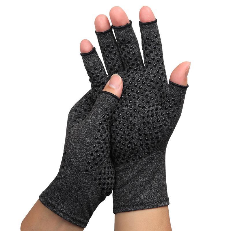 Велосипедные перчатки Спортивные дышащие наполовину палец творчество твердого цвета тренажерный зал дизайн Guantes Ciclismo Фитнес аксессуары EC50QX