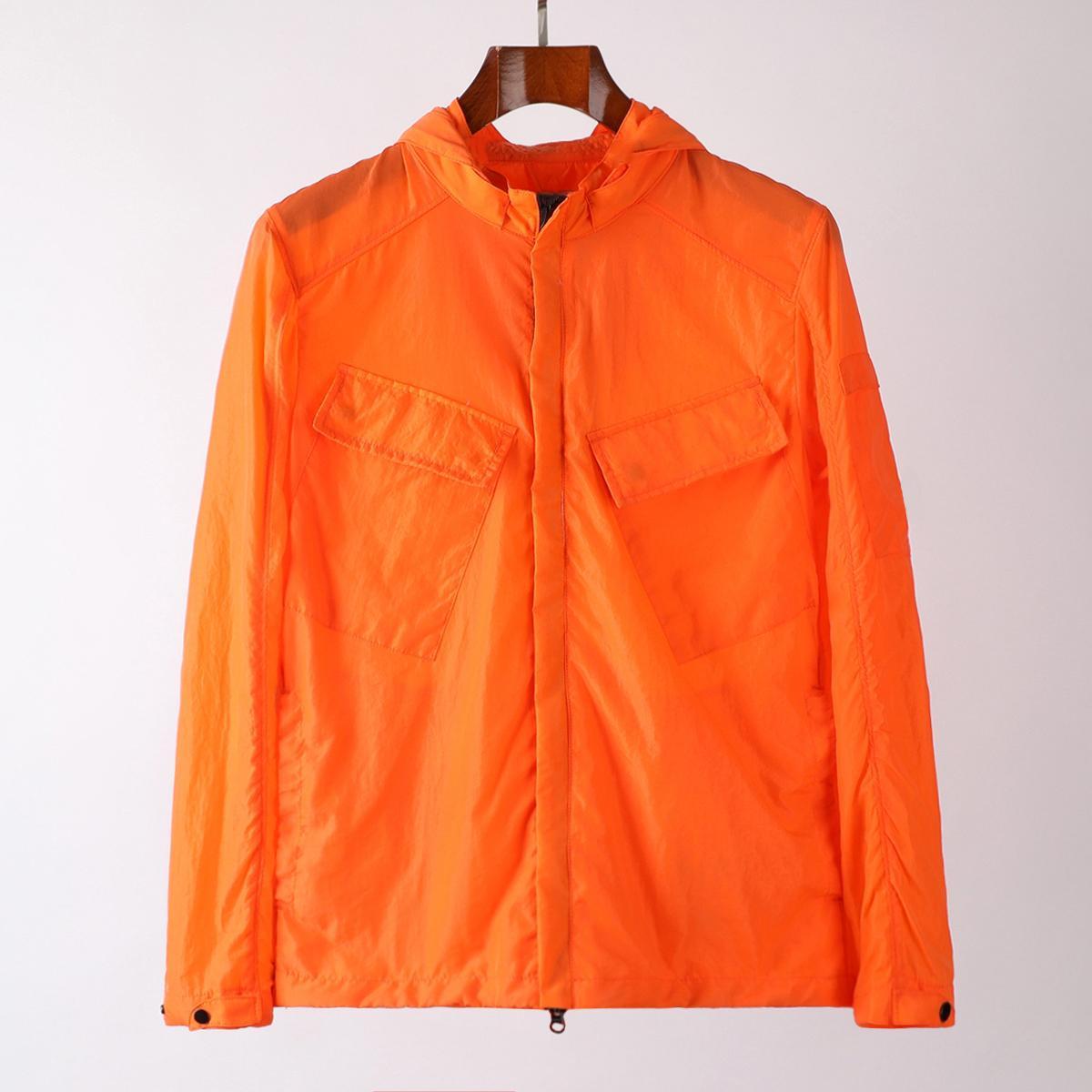 Windbreaker Sweatshirt Topstoney Mens Jacket Cyberpunk Casual Streetwear Company Zipper Outdoor Hood Coat 3 Color Asian SIZE M-XXL