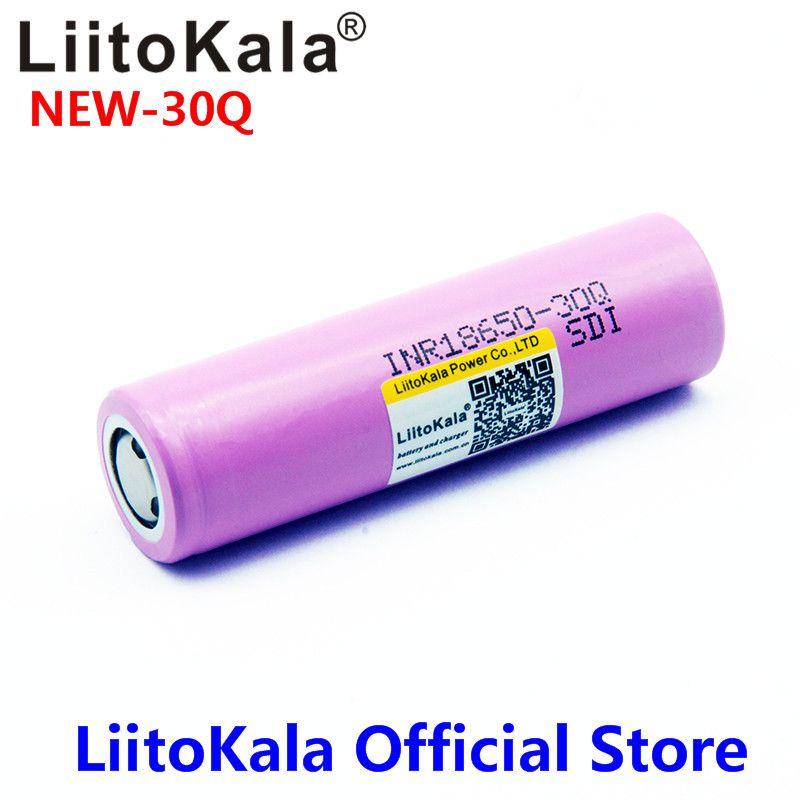 2020 Nuovo 100% originale nuovo per la batteria INR 18650 3.7V 3000mAh INR18650 30Q Batterie ricaricabili Li-ioni