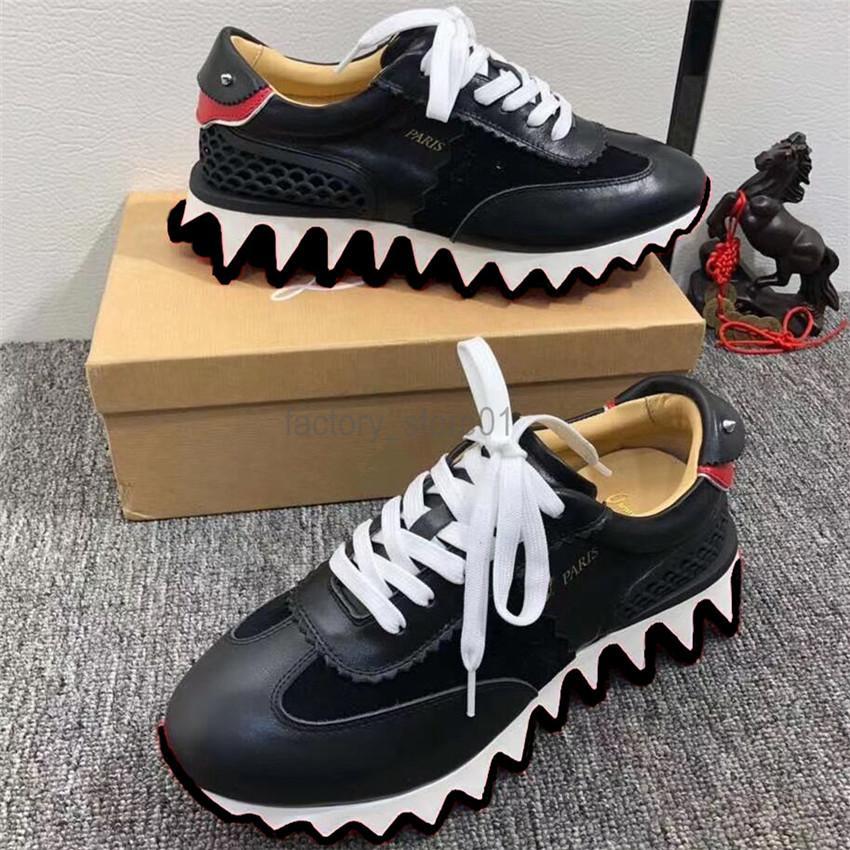 الرجال الرياضة عارضة الأحذية النسائية الكلاسيكية لينة الجلود المدربين القرش الوحيد أحذية رياضية espadrilles منصة الأحذية المسطحة chaussures أحذية الراحة