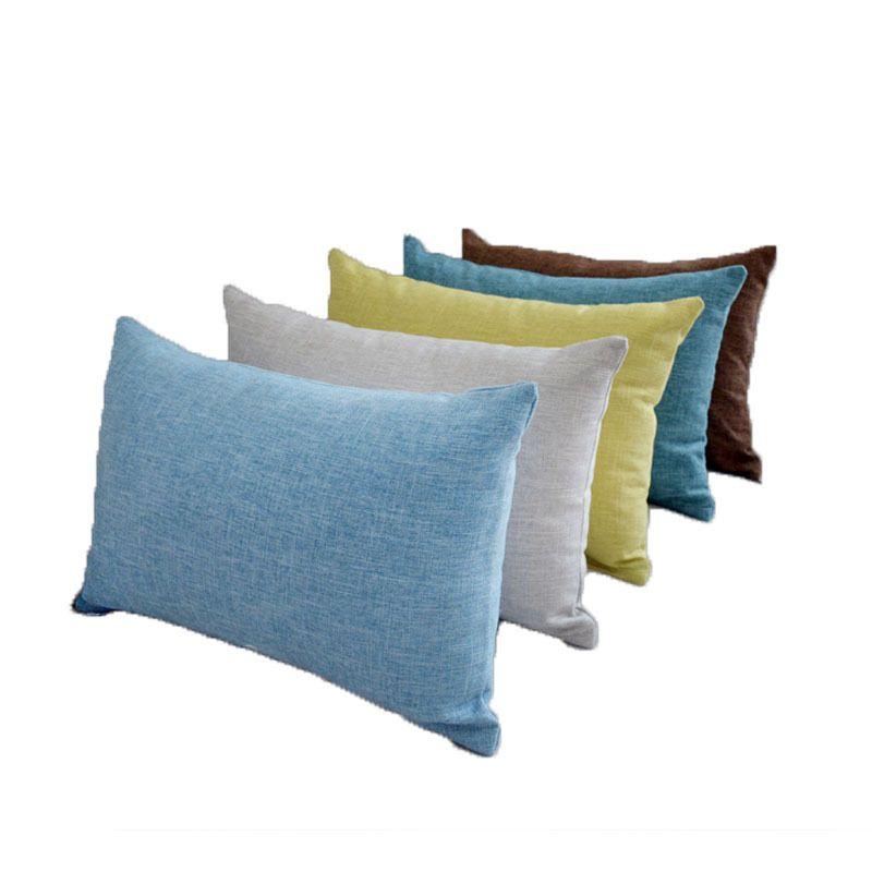 X206 Küçük Taze Kucaklama Yastık Dikey Şerit Süet Yastık Örtüsü Ev Eşyaları Hug Yastık Katı Renk Yastık Kapakları ASDF