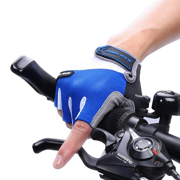 Half Finger Bike Gloves Cyclings Shockproof Breathable MTB Mountain Bicycle Glove Men Sports Cycling Clothings