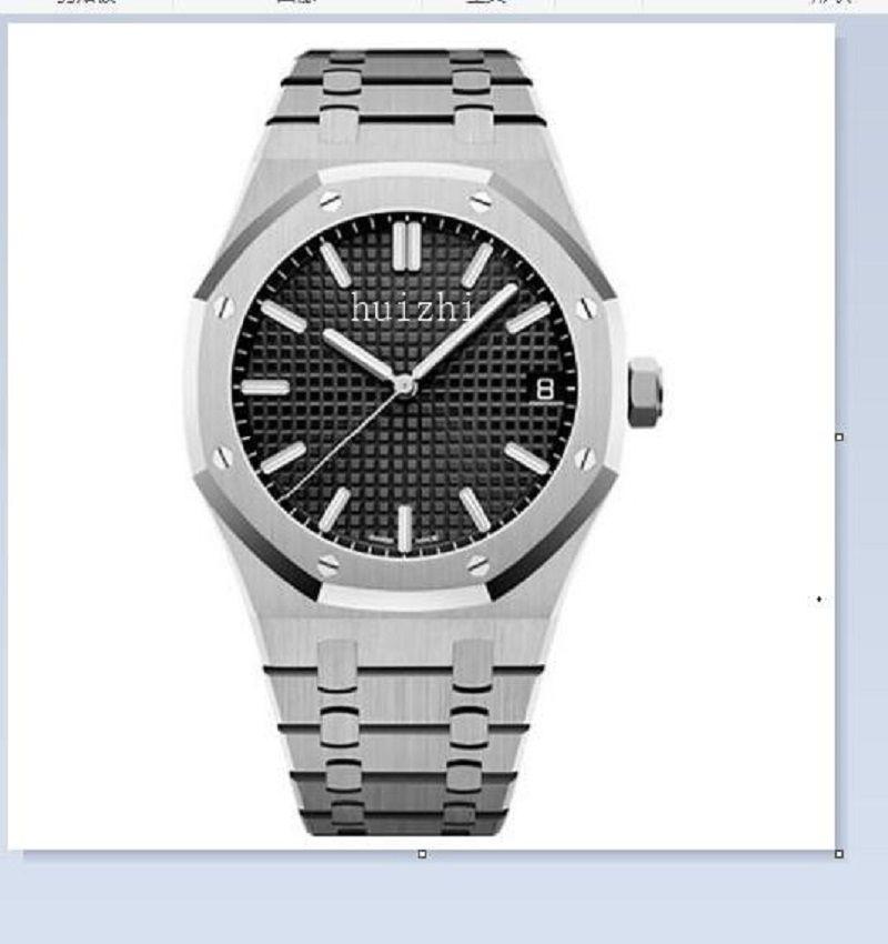 Montre de Luxe Mens 자동 시계 레이디 시계 드레스 전체 스테인레스 스틸 사파이어 방수 빛나는 커플 스타일 클래식 손목 시계