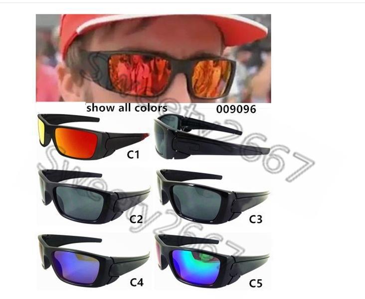 9096 ركوب النظارات الشمسية عالية الجودة النظارات الشمسية النظارات العلامة التجارية، متعدد الألوان النظارات الشمسية الاختيارية بالجملة