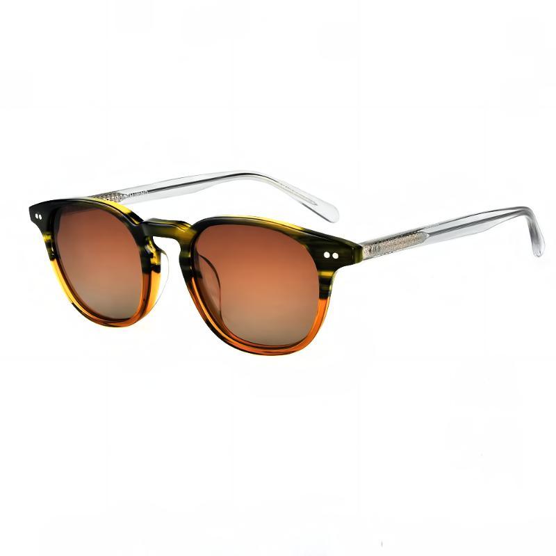 2021 Yeni Varış Küçük Güneş Gözlüğü Vintage Yuvarlak Polarize Güneş Gözlüğü Erkekler Ve Kadınlar Retro Güneş Gözlükleri OV 5062