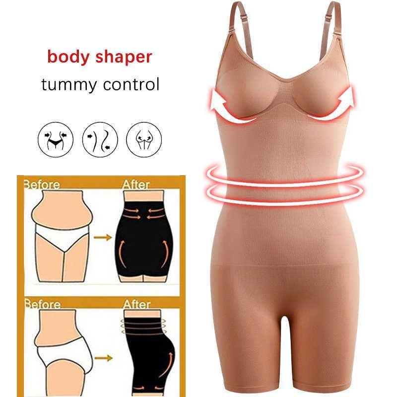 نايلون bodyshaper للنساء مثير ملابس داخلية الخصر المدرب التخسيس البطن تقليل ارتداءها داخلية سلس بعقب رافع ضغط المشكل