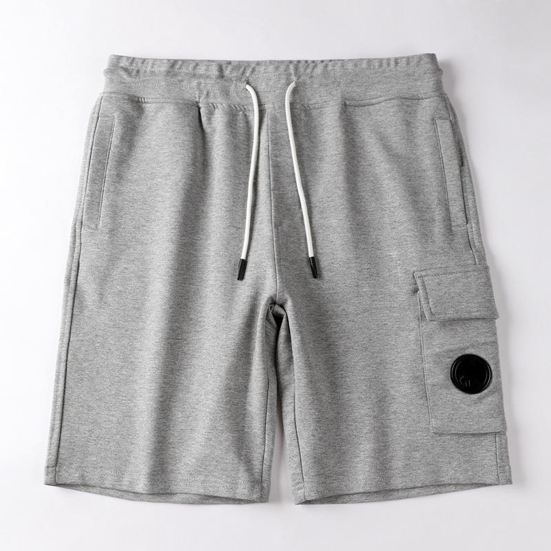 CPTopstoney konng gonng moda de alta qualidade verão algodão terry shorts europeu e americano hip hop street estilo streetstring shorts