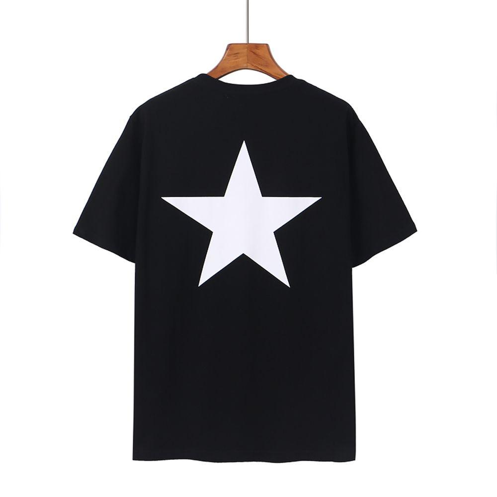 Hommes T-shirts Été EXPECYS FOG DE PRÉSENT DU PENME PENTAGRAM T-shirt Imprimé Streetwear Mode Tops Hommes Femmes Hip Hop Sleeve Tees 08
