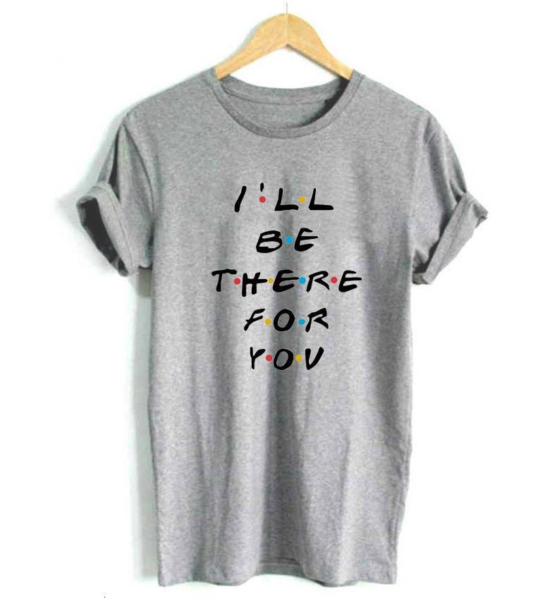 Lá camiseta v-garganta amigos ser para você carta impressão lunoakvo camisa doente tshirt manga curta mulheres top tee