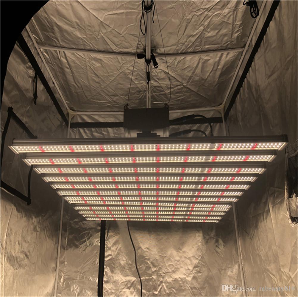 8bars tüp ho t5 led ışıkları büyümek, 2ft 3ft 4ft tam spektrum UV güneş ışığı değiştirme, 600W yüksek çıkışlı entegre fikstür ip askısı ile