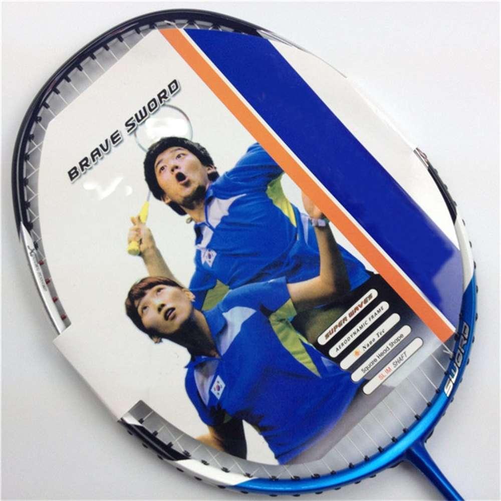 Hot Selling Corée Badminton Équipe Badminton Raquette Brave Sword 12 3U G5 Carbon Graphite Raquette de Badminton
