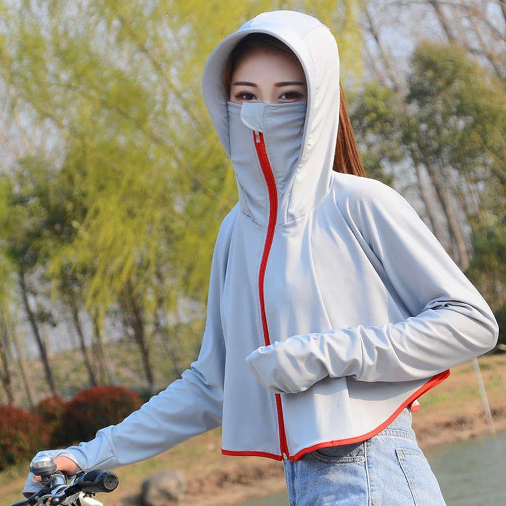 Электрическая шаль женская капюшона для лица маска для лица рубашка лето анти ультрафиолетовый пляж школьная машина дышащая солнцезащитная крема