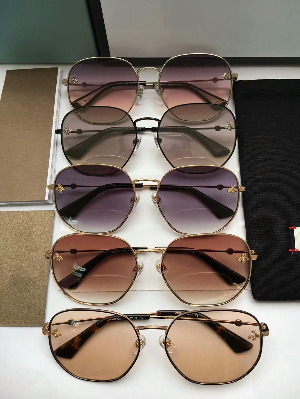 2021 جديد أعلى جودة 2289 رجل نظارات مزاجه الرجال نظارات الشمس النساء النظارات الشمسية نمط الأزياء يحمي العينين مع مربع