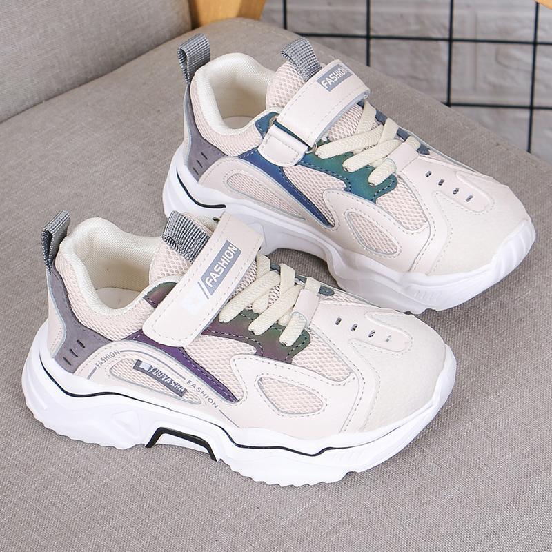 أحذية رياضية بنين بنات أحذية رياضية أزياء أطفال مكافحة زلق تنفس