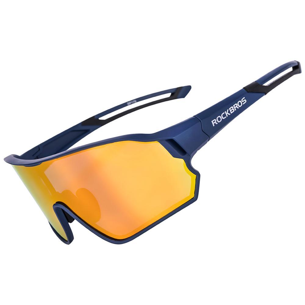Rockbros Polarized Sports Light Cadre Equitation Etudes de cricket Vélos Sunglasses Lunettes de soleil Cyclisme Vélo Sunglass Vélo Vélo Accessoires