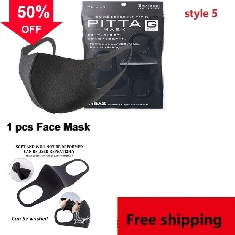Carbon Layers 5 Pm2.5 k Qzt0 Adult Activated Mouth Dust Mask Protective Media -proof Filter for Nyep
