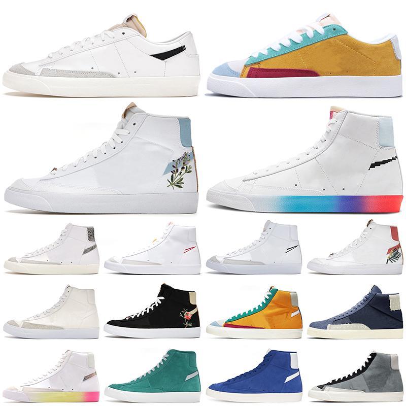 حذاء الجري Blazer Mid 77 High Have a Good Game High Multi Suede Dorothy Gaters Cool Grey Blazes رجال ونساء منصة أحذية رياضية خارجية للمدربين