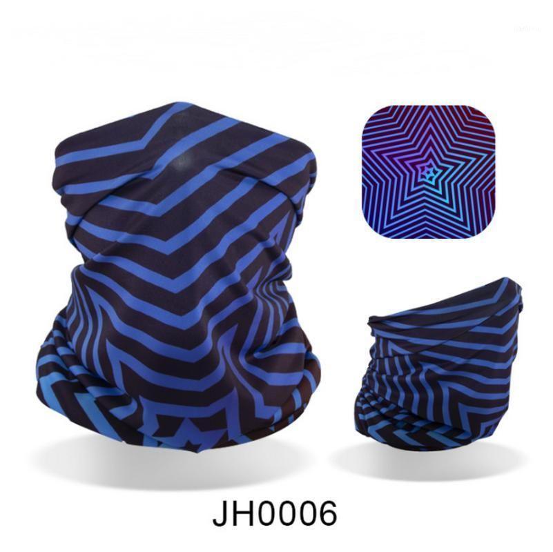Caps Caps Masks 500 шт. Высокоэластичный ледяной шелковый езда маска солнцезащитный крем для лица полотенце шарф волшебный оголовье дышащий и потуистый воротник1
