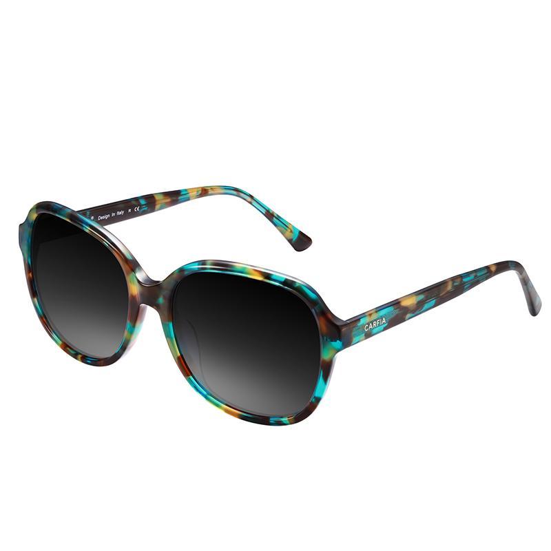 Neue Marke Retro Oval Polarisierte Frauen Sonnenbrille UV400 Schutz, Sport Outdoor Sonnenbrille für das Autofahren Bootfahren Golf Carfia 2024 mit Box