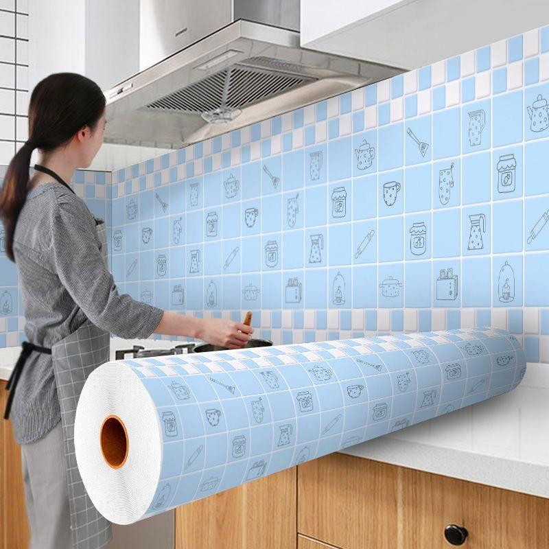 Pegatinas de pared Mosaico de azulejo Pelar y palo Autoadhesivo Backsplash Pascar DIY Cocina Baño Pegatina Hogar Papel Pintado 3D