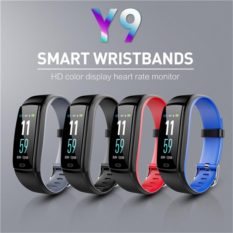 Smart Watch Blood Pressure Heart Rate Monitor Fitness Tracker Smart Watch Waterproof Smart Bracelet For IOS Android Cell Phone Wristwatch