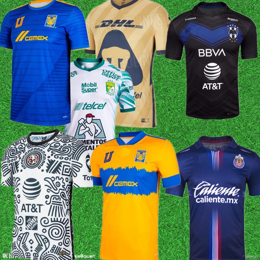 الرجال 2122 نادي أمريكا لكرة القدم الفانيلة ليون الثالثة 2021 2022 camisetas tijuana السهم unam chivas cruz zul 3rd الاطفال كيت كرة القدم