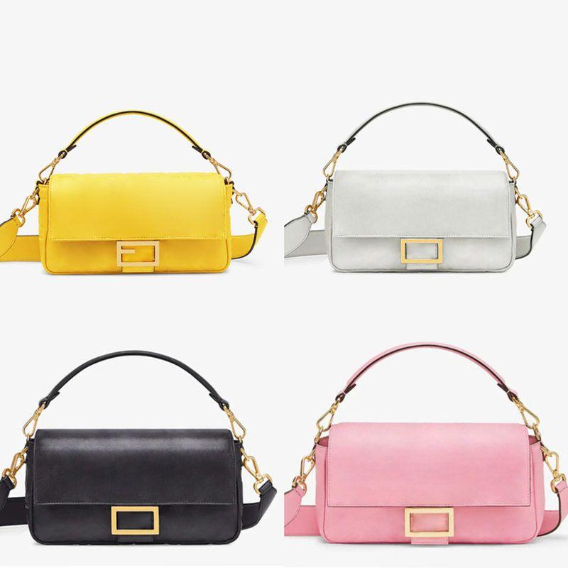 2020 5a Qualidade Genuine Leathe Baguette Bags Bolsas De Nylon Bestseller Designer Luxo Carteira Mulheres Sacos Crossbody Bag Hobo Bolsas