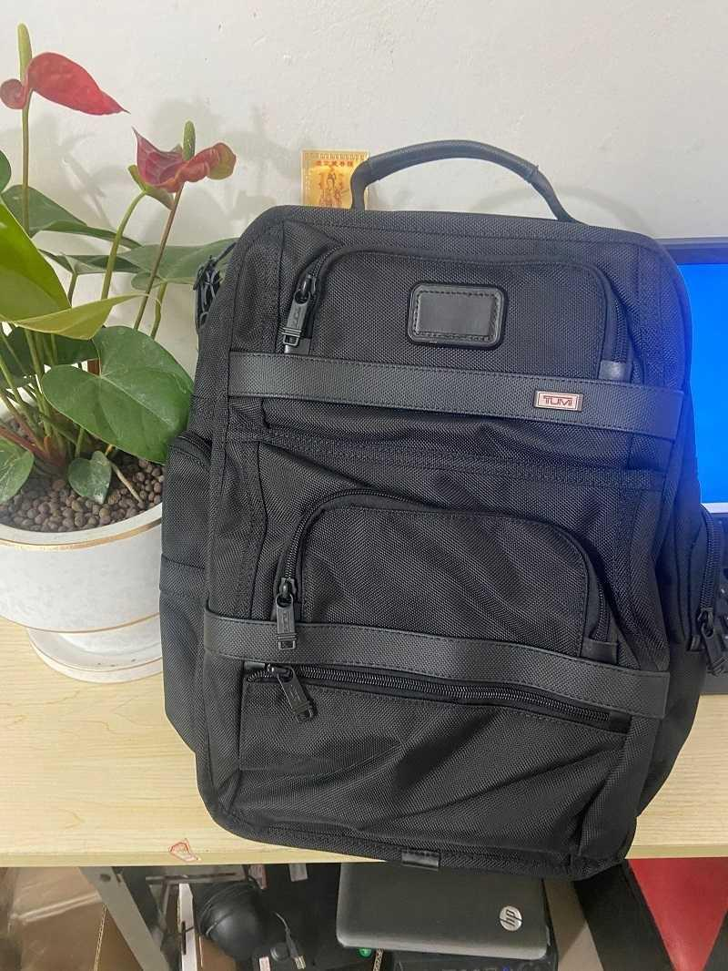 Alpha Herren 3 Tumin Tumi Nylon Black Bag Ballistische Back Rucksack Computer Series Business CVFXV