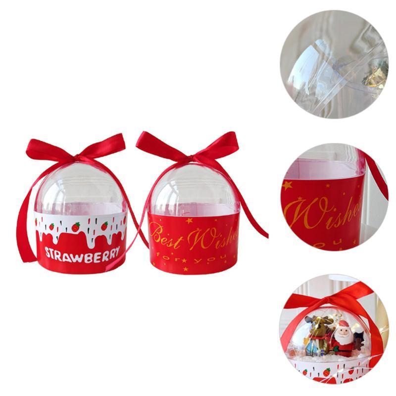 2 шт. Подарочная упаковочная коробка Праздничная вечеринка FAL BOX Candy Biscuit Case Case
