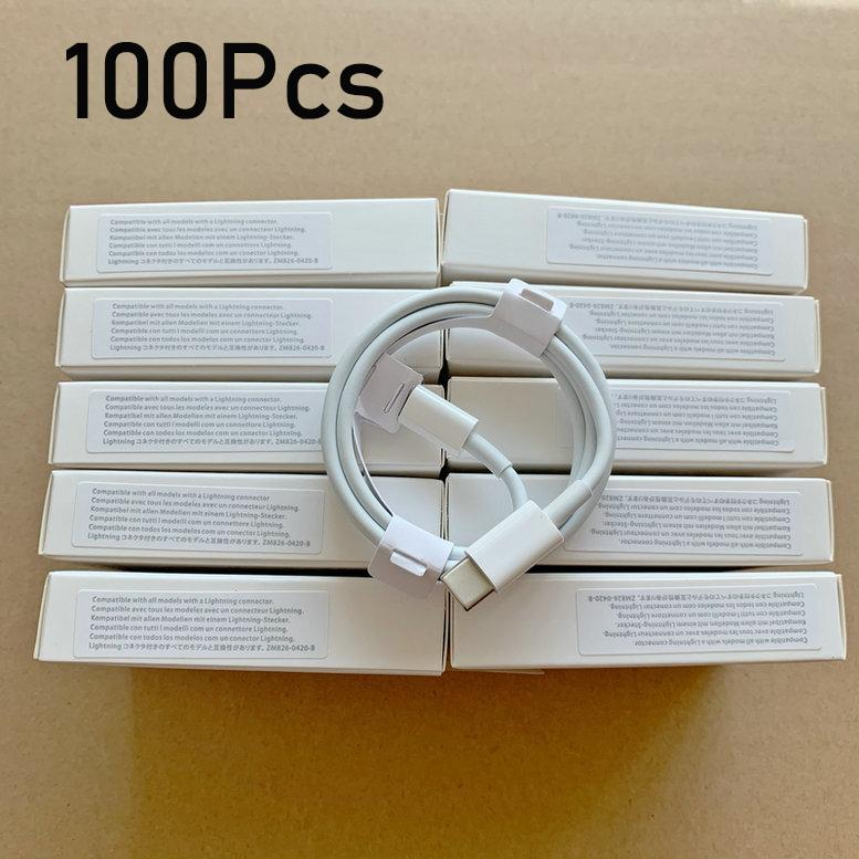 100 قطعة / الوحدة 6 أجيال الأصلي كابلات الجودة OEM 1M / 3FT 2M / 6FT USB مزامنة بيانات مزامنة الكابلات مع الحزمة