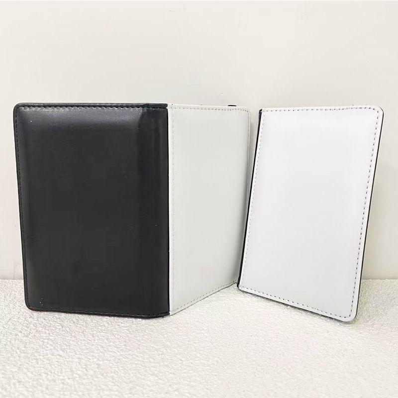 جواز السفر حامل التسامي بو الجلود محفظة وثيقة غطاء فارغة حقائب بطاقة الهوية نقل الحرارة في الهواء الطلق الإمدادات المحمولة