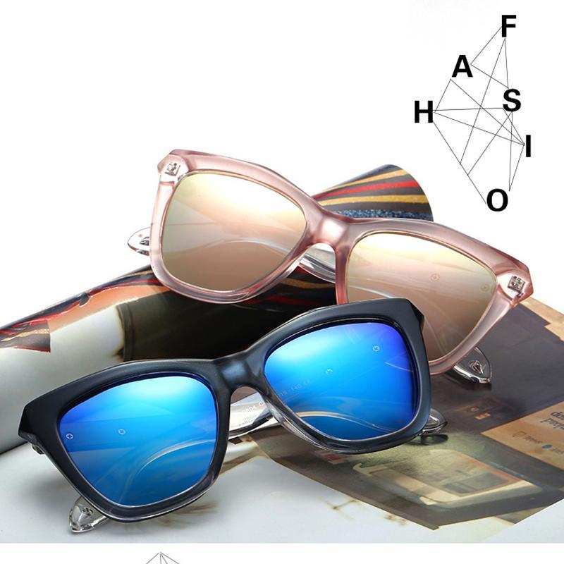 Солнцезащитные очки для очков пластиковый овальный сорт досуг женщины солнца 82Z1 старинный дизайнер леди стекло WD0804 мода VXVSS