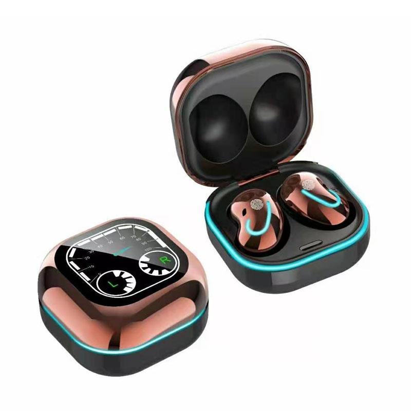 Hot S6 SE Sport Auricolari Sport TWS Cuffie wireless BT 5.1 TWS Auricolari Auricolari Auricolari con cuffia per microfono