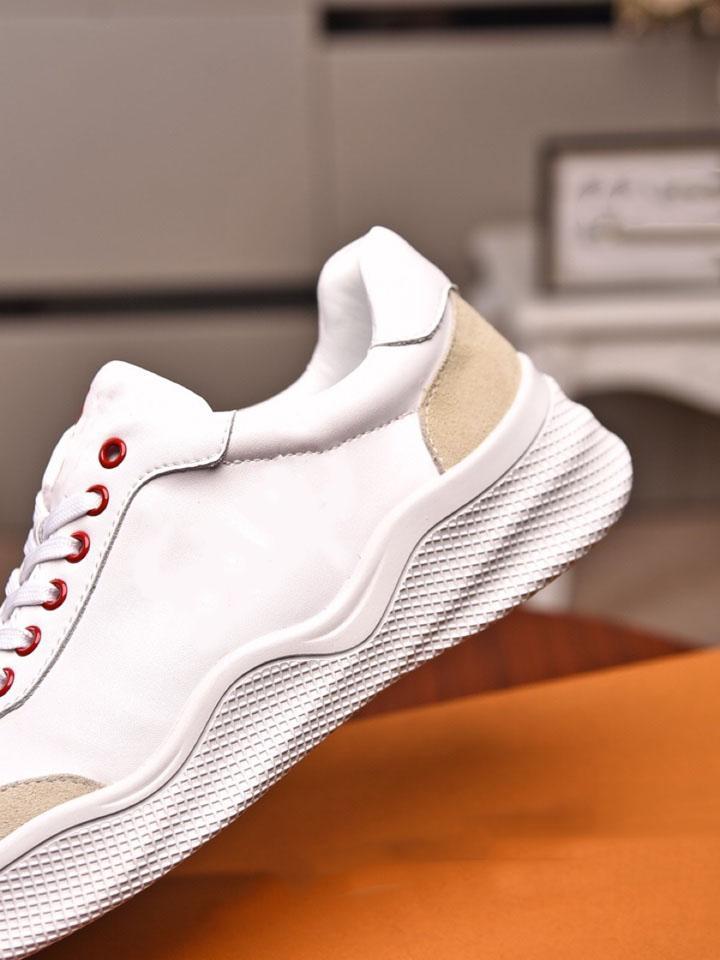 Высочайшее качество мужская мода белая / черная плоская нижняя повседневная обувь 2021 черная мужская белая обувь