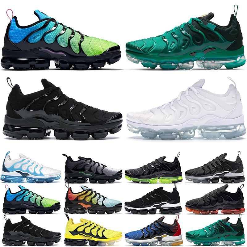Tn plus hommes femmes max max chaussures de course astronomie bleu être vrai Aurora vert triplé noir blanc bleu élevé os de lumière respirant extérieur sport sparters baskets