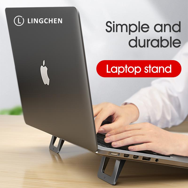 Laptop Stand for MacBook Pro Universal Desktop Laptop Holder Mini Portable Cooling Pad Notebook Stand for Macbook Air