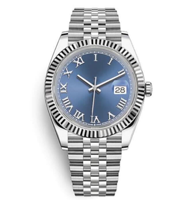 Высококонечные мужчины 41 мм качество мода часы спортивное автоматическое движение бизнес светящийся 316L из нержавеющей стали водонепроницаемый водонепроницаемый давка мужская роскошь