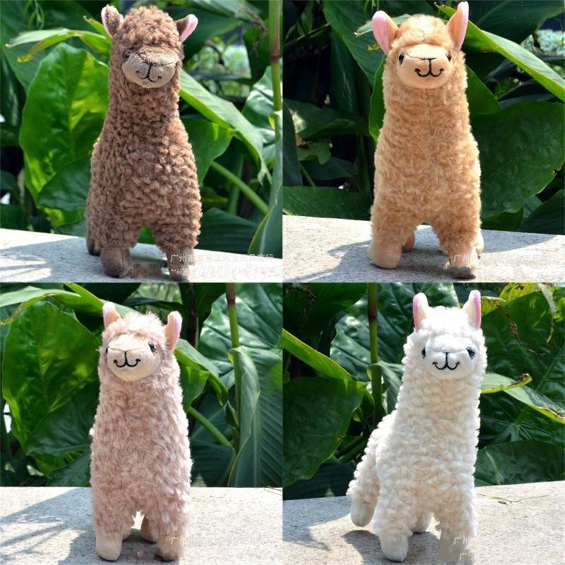 Kawaii alpaca pelúcia brinquedos 23cm arpakasso lhama recheado bonecos de animais japoneses brinquedo de pelúcia crianças crianças aniversário presente de natal 261 u2