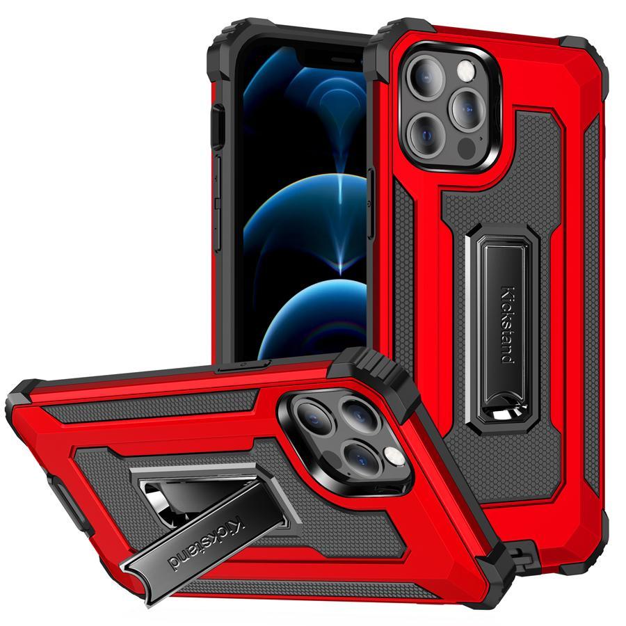 Корпус для телефонов для телефона для iPhone 11 12 Pro Max XS XR X 7 8 Samsung Note20 S21 с держателем ударопрочный мобильный чехол