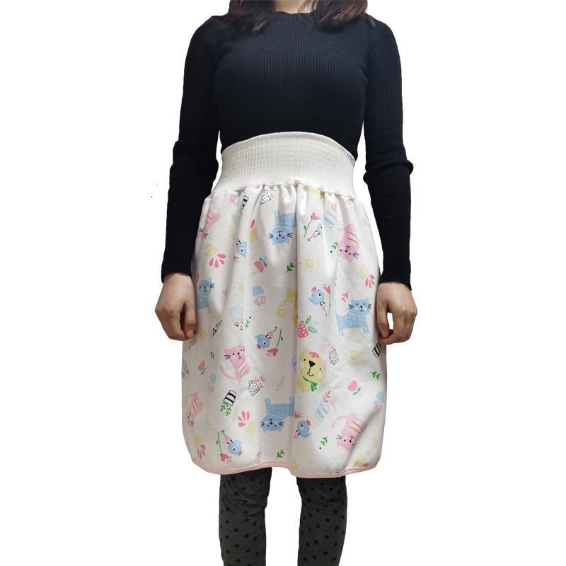 Высокая талия Пожилой подгузник юбка для подгузников подгузники для взрослых подгузники для взрослых подгузник Pad Pad Pad Pad женщина менструальный период PAD санитарная салфетка 210305