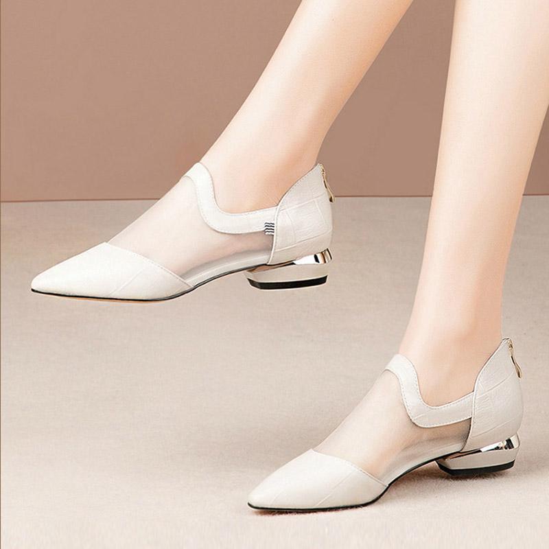 Artı Boyutu 41 Gladyatör Sandalet Mesh Sandal Kadın Ayakkabı Düşük Topuklu Yüksek Üst Mujer Kadın Elbise Ayakkabı Mujer 7509