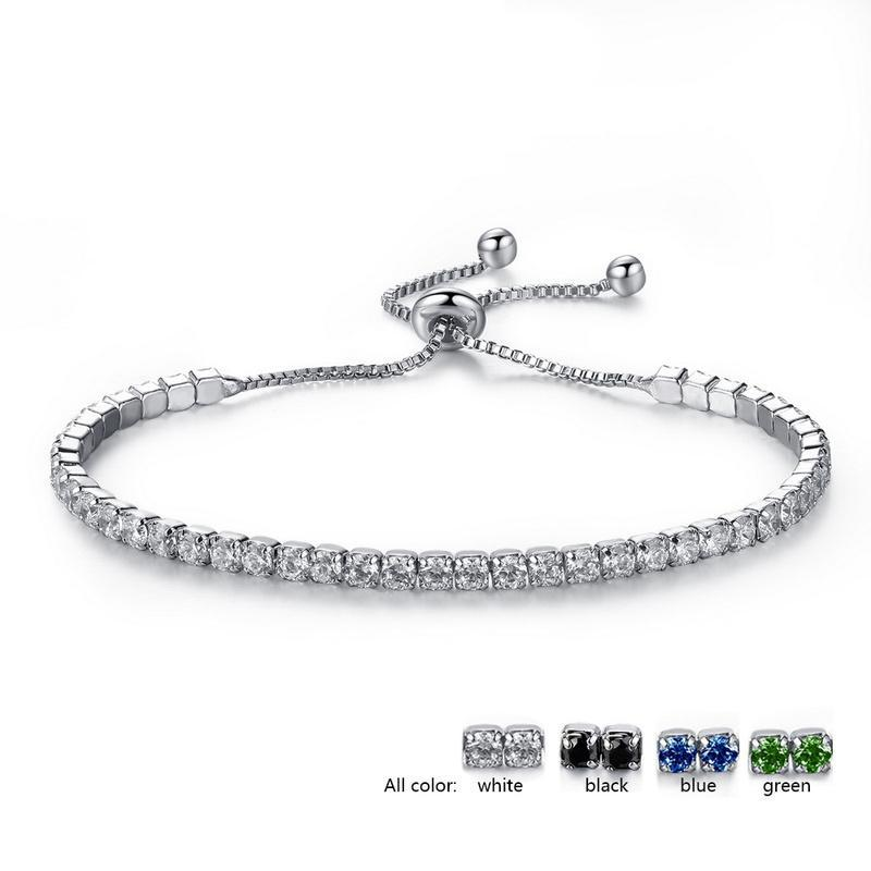 Charme Armbänder Strass Freundschaft Armreifen Für Frauen Armband Liebhaber Verstellbare Kettenglied Armband Weibliche Reize Braklet