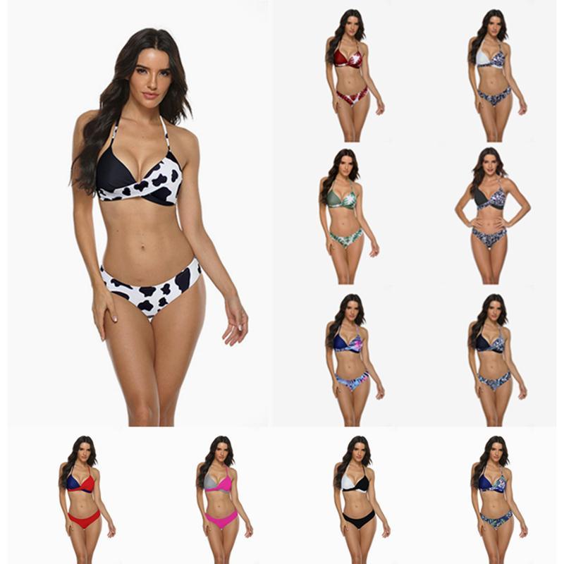 Costume da bagno Costume da bagno Bikini Set da bagno Costume da bagno Costume da bagno vestiti estivi Costumi da bagno Donna Brasiliana Biquini Swim Snow Beach Micro Bikinisets